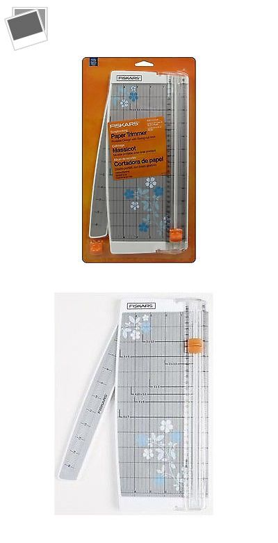 Cutters and Trimmers 183174: Fiskars Paper Trimmer Scrapbooking 12 Euro -> BUY IT NOW ONLY: $33.4 on eBay!