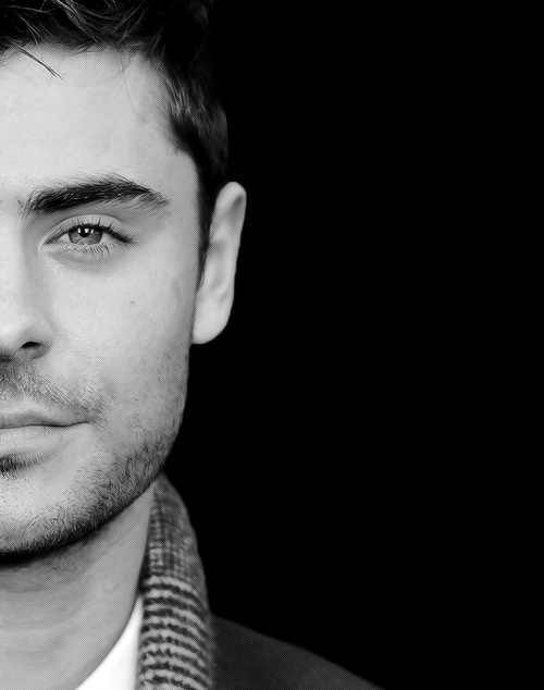 Zac Efron; yup perfection.