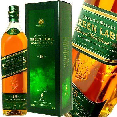 Green Label (saudades).. ''Diageo está introduzindo dois novos whiskys na linha Johnnie Walker o Gold Reserve e o Platinum 18 anos. Por conta disso lamentavelmente dois produtos terão que deixar a família, o Gold Label e o Green Label.''