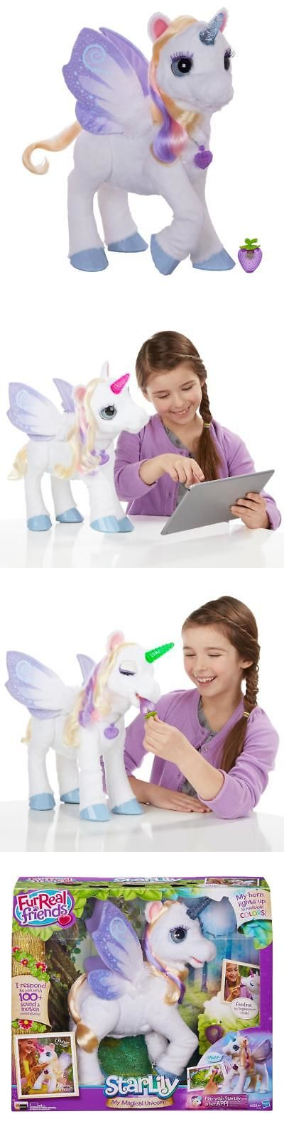 FurReal Friends 38288: Furreal Friends Starlily, My Magical Unicorn -> BUY IT NOW ONLY: $79.98 on eBay!