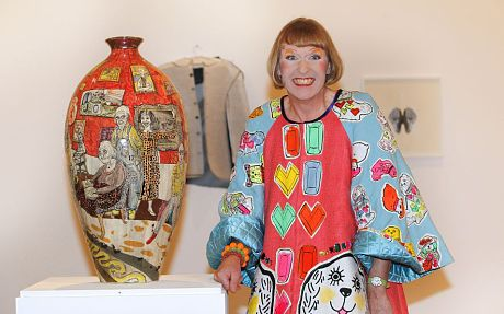Grayson Perry, interview: 'Rule-breaker? I'm a CBE!' - Telegraph