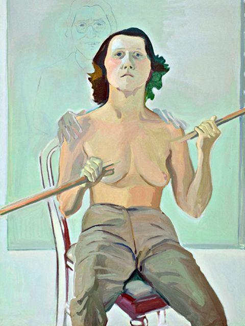 TRADUCENDO LE SENSAZIONI CORPOREE IN UN LINGUAGGIO VISIVO – La strana superficie corporea di Maria Lassnig - Meeting Benches