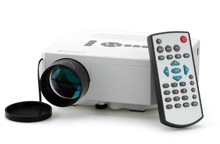 Mini LED Projector w/ LCD Image System #bitcoin #miniprojector #projector