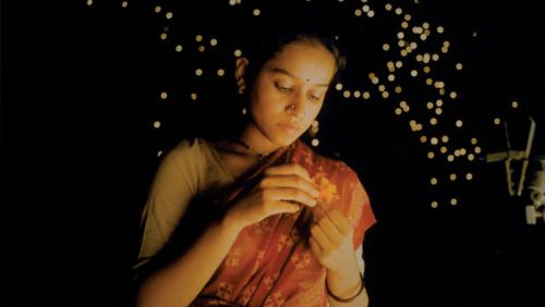 Tillotama Shome in MONSOON WEDDING, written by Sabrina Dhawan and directed by Mira Nair.