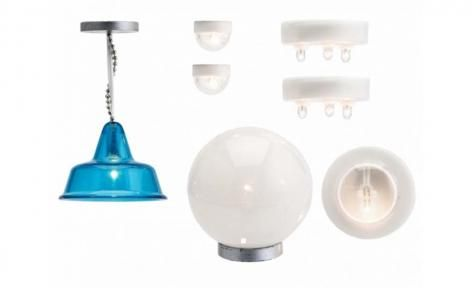 Stockholm 2015 Lamp Set by Lundby