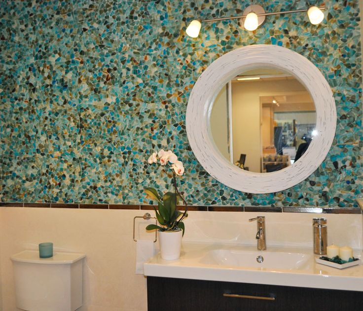 Our Riva Del Mar Mosaic Gl Stone Collection Brings A Touch Of The Mediterranean To This