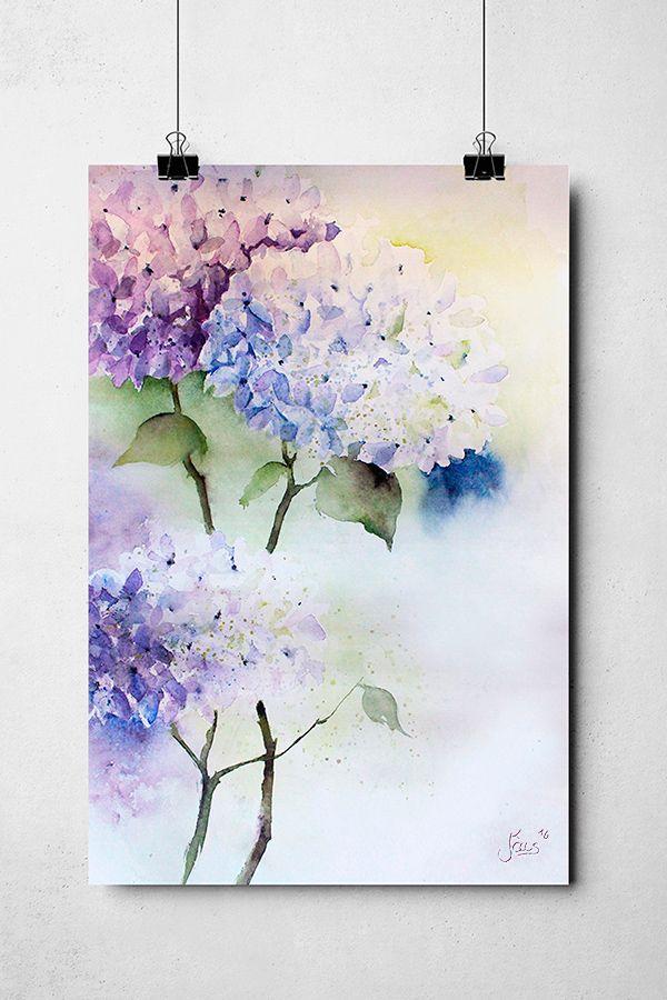 Pin Von An Le Me Auf Malerei In 2020 Blumen Aquarell Blumen