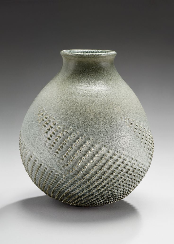 Ceramic art surface textures featured artist of the day for Ceramic vase ideas