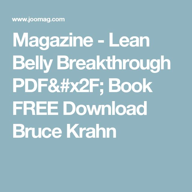 Lean Belly Breakthrough PDF/ Book FREE Download Bruce Krahn  Lean Belly Breakthrough PDF/ Book FREE Download Bruce Krahn  Lean Belly Breakthrough PDF/ Book FREE Download Bruce Krahn  Lean Belly Breakthrough PDF/ Book FREE Download Bruce Krahn