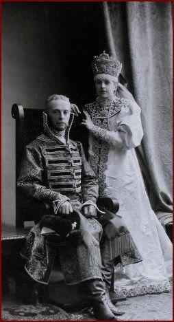 Baranov Pyotr  / фон Баранов Пётр Петрович (1843 - 1924) с дочерью Ольгой