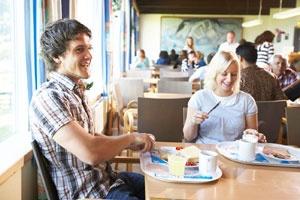 Breakfast is included at Bergen Hostel Montana, Norway