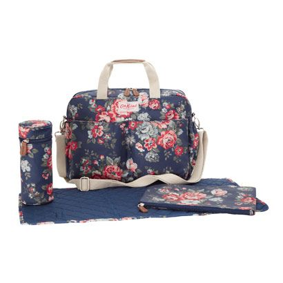 Pembridge Rose Double Pocket Nappy Bag