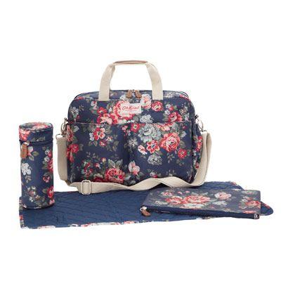 Pembridge Rose Double Pocket Nappy Bag