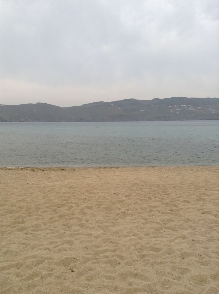 A beach during a somewhat decent day