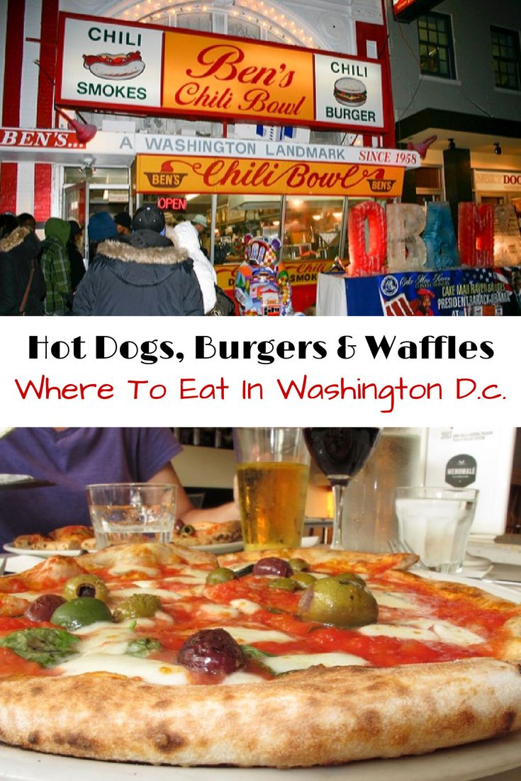 Find all the best places to eat in Washington, DC. All the places you won't want to miss on where to eat in DC.