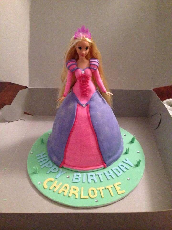 Dolly Varden - rapunzel -  birthday cake