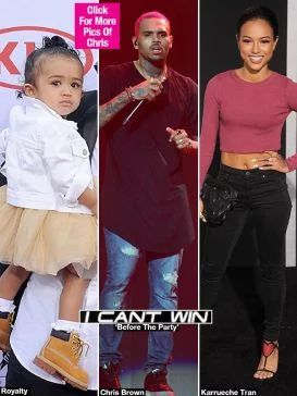 Chris Brown cannot win