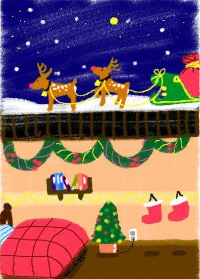 Noël, 크리스마스, 루돌프,