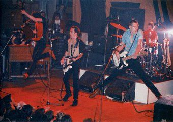 The Clash - by Jenny Lens, 1980