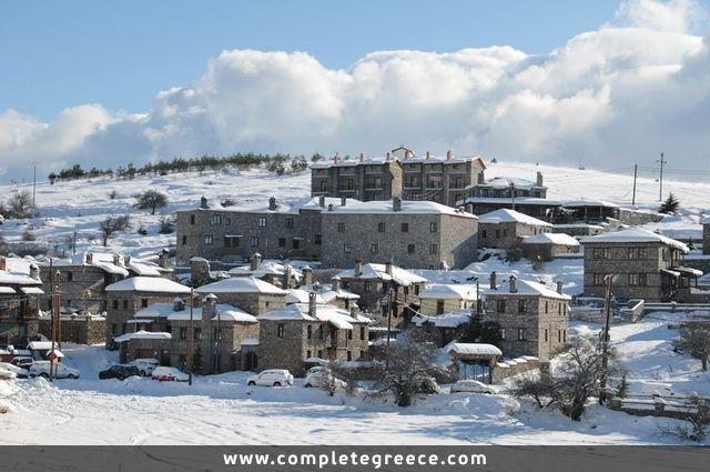 Ski Centre Vora (Kaimaktsalan) - Agios Athanasios - Pella - #Greece
