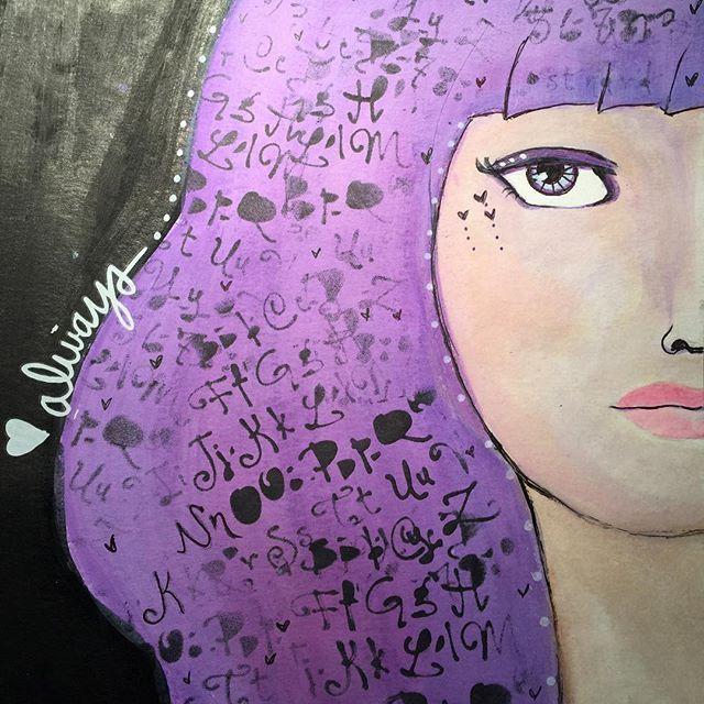 Sundayfun!  #kunstjournal #kunstdagbok #lykkeligkreativ #art #mixedmediart #artjournal #artwork #Artjounaling #artjournalpage #artjournalplay #mixedmedia #mixedmediart #mixedmediaportrait #mixedmediaportraits #painting #maling