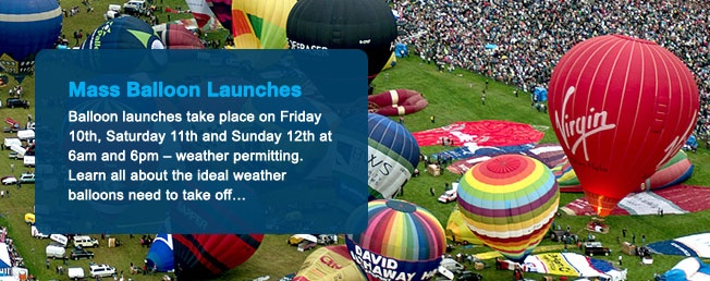 Bristol International Balloon Fiesta, 8th - 11th August 2013