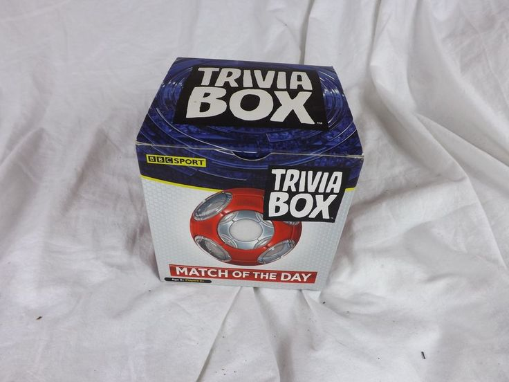 Match of The Day Trivia Box, Football game/knowledge #Imagination