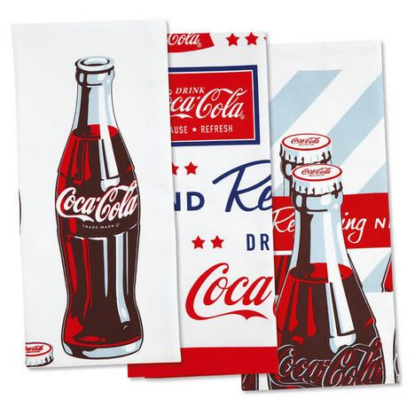 Www.colorfulimages.com Item #: A02023 Coca Cola Kitchen Towels $7.99