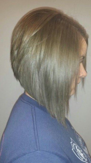 smart bob hairstyle for fine thin hair