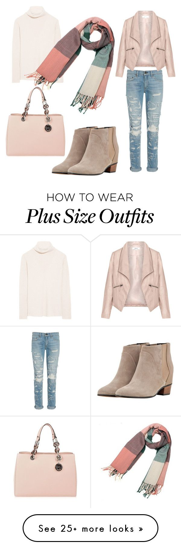"""Без названия #91"" by jujik85 on Polyvore featuring rag & bone, The Row, Zizzi, Golden Goose, MICHAEL Michael Kors, women's clothing, women, female, woman and misses"