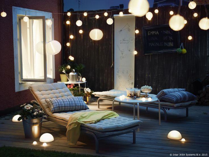 SOLVINDEN LED Solarna Lampa Može Biti Pravo Osvježenje Na Tvojoj Terasi.  Pretvarajući Sunčevu Svjetlost U. Solar LightsSolar Powered LightsOutdoor  ...