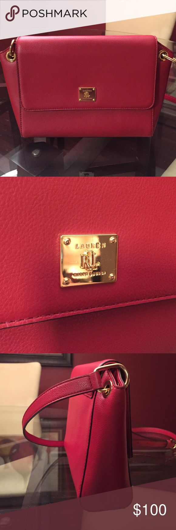 Never been used Lauren by Ralph Lauren purse This purse is the perfect size for going out with the essentials. It's in perfect condition, as I have never used it! Lauren Ralph Lauren Bags Crossbody Bags