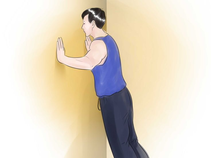 How to Do a Wall Push Up -- via wikiHow.com