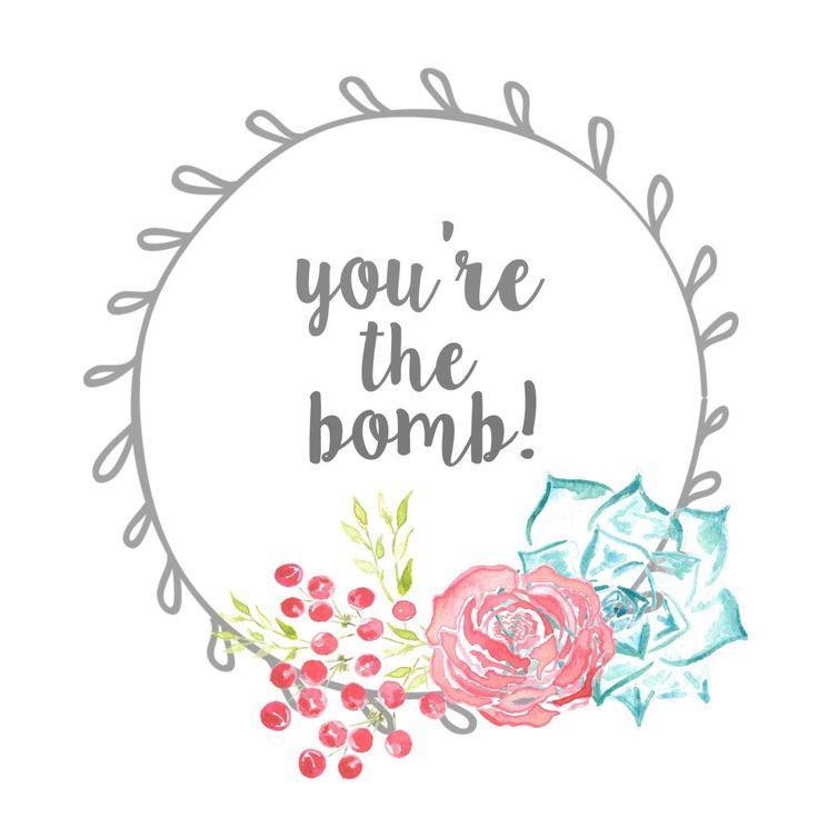 Bath bomb gift tag free printable bath bomb gift bath