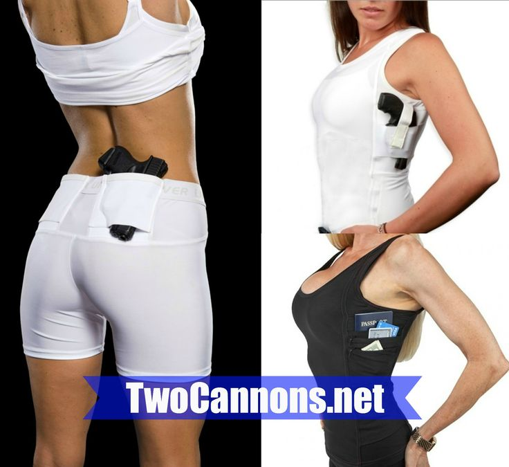 $49.99 twocannons.net facebook.com/girlswithgunsco holster, holsters for running, spandex, ccw, concealed carry, women's holsters