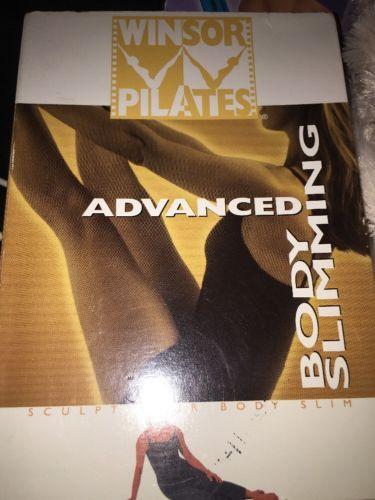 Winsor Pilates Advanced Body Slimming (DVD, 2003)