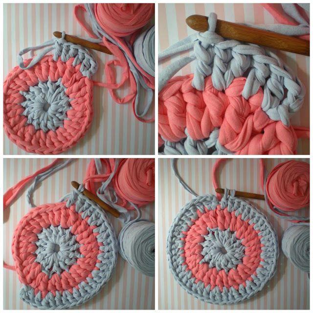 Otro tutorial para hacer una alfombra de trapillo. Tendré que probarlo!