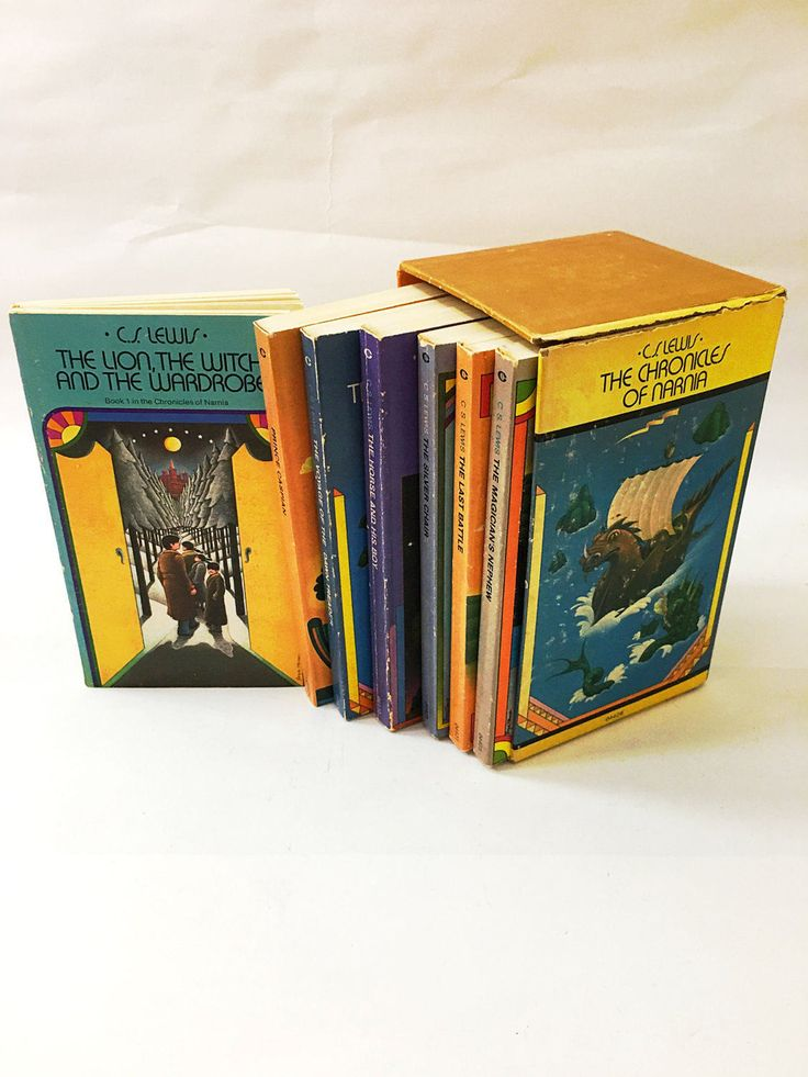 The Lion, the Witch and the Wardrobe by C.S. Lewis. Chronicles of Narnia Book Series. Secret Adventures. Science Fiction. Fantasy.