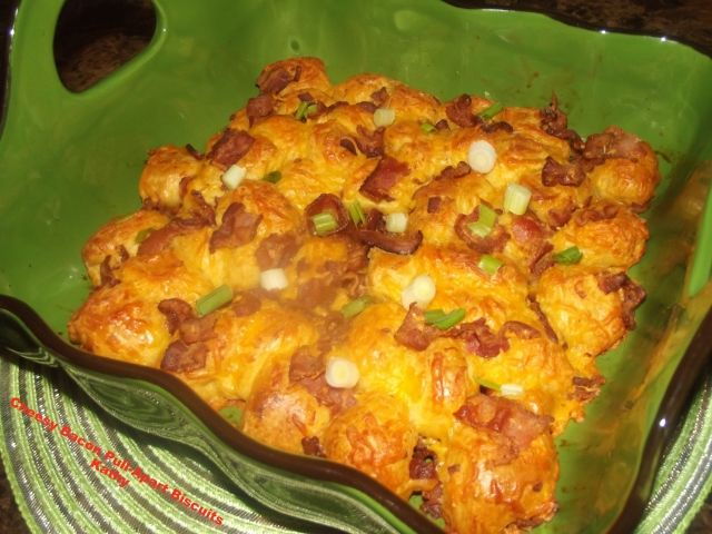 REC. REV. & PIC: Cheesy Bacon Pull-Apart Biscuits | Taste of Home ...