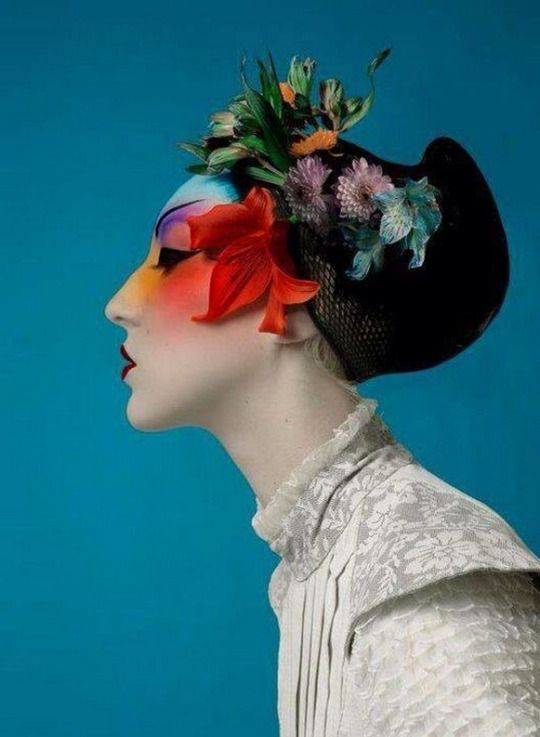 Make up by Serge Lutens.