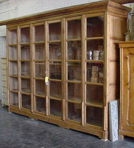 Antique Bookcases UK - Antique Painted Bookcases - French