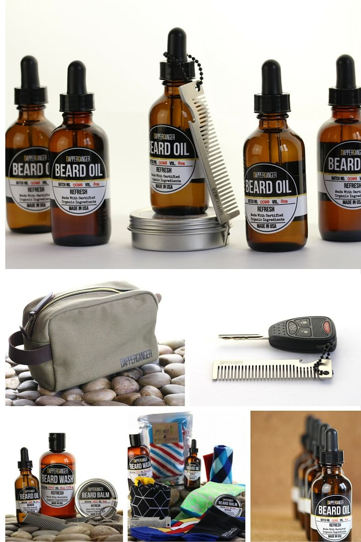 Best Beard Oil and Beard Kit on the Market. Scent is refreshing and light. Lets just say you want smell like the typical dirt and bark melange. Beard oil, balm and wash are made with certified organic ingredients. Beard comb, Dopp Toiletry Bag and Beard trimming scissors are included.
