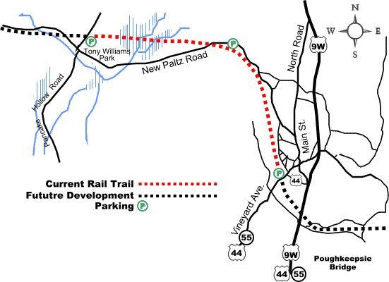 Hudson Valley Rail Trail Map - Hudson Valley Network