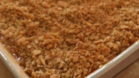 Crumble Mix, Sweet & Savoury. An easy and tasty crumble mix which can be made to be either sweet or savoury.