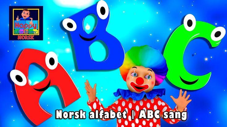 Norsk alfabet | ABC sang | Alfabetsang | Norwegian Alphabet Song | Norsk...