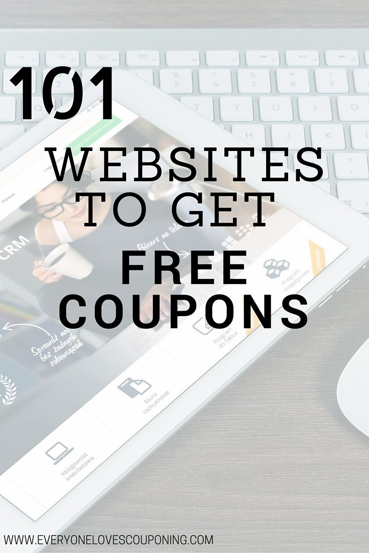 101 Websites To Get Free Coupons ELC                              …