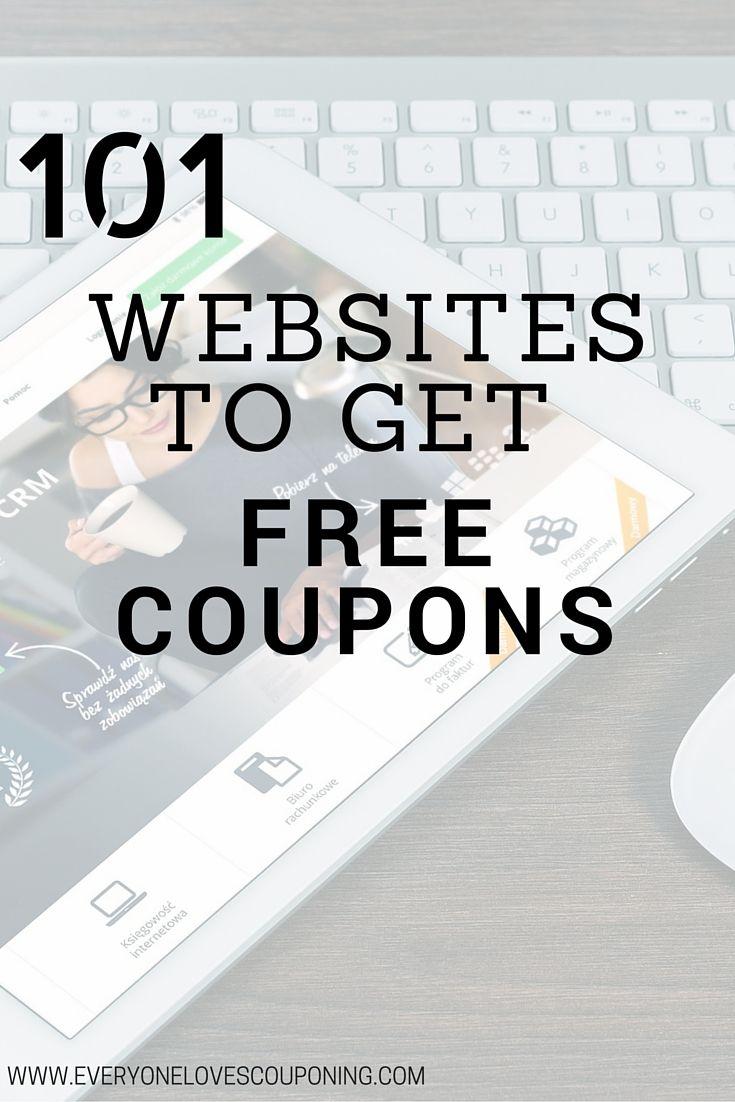 101 Websites To Get Free Coupons ELC                              …