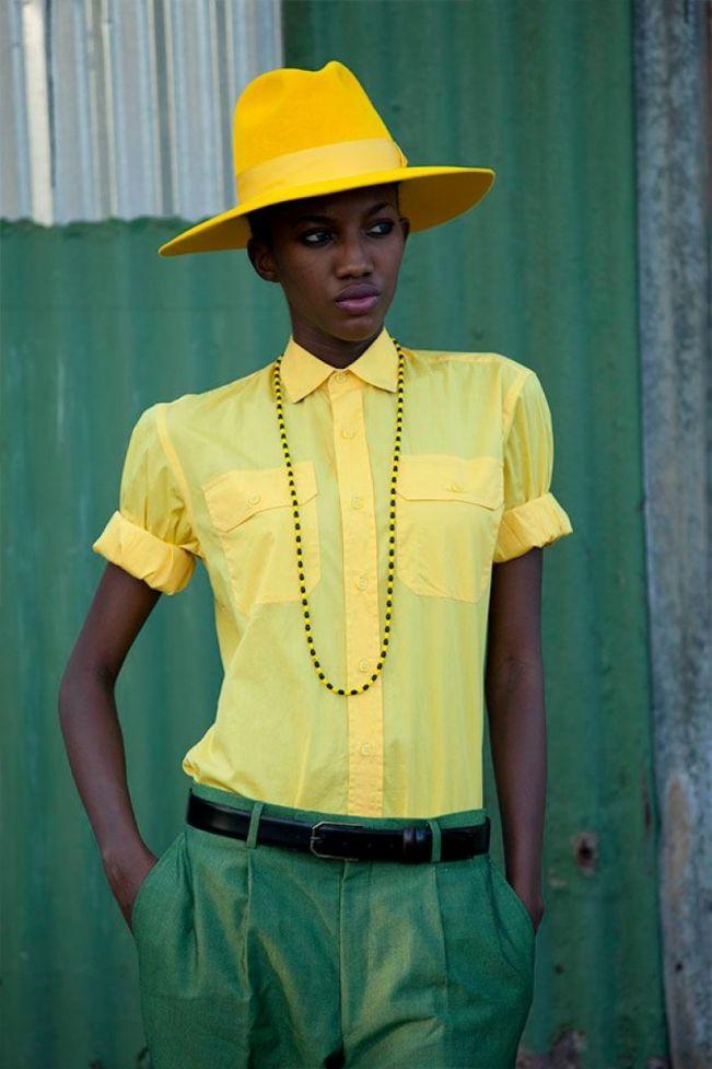 vert et jaune