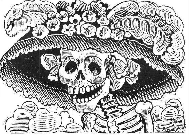In Mexico on November 2, mortality is approached with music and laughter.  'On the Day of the Dead, when the spirits come back to us,' explains the Dr.