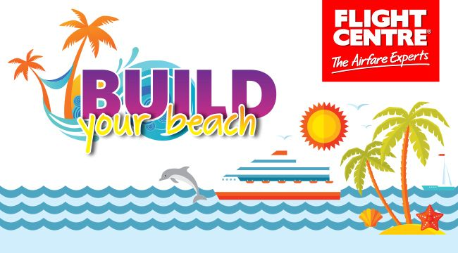 Flight Centre is giving you the opportunity to create your very own beach paradise and stand a chance to win a Gift Card worth R20 000 towards your ultimate beach holiday. Join the Flight Centre Inner Circle and start building your beach!